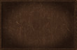 Dark brown grunge background from distress leather texture