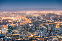 Aerial View Of Cape Town From ...