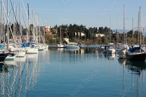 Foto op Plexiglas Water Motor sporten View of the Marina