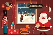 Christmas Flat Elements