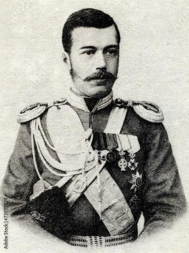 Nicholas II of Russia Fototapeta