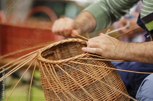 Fotografía  Basket maker