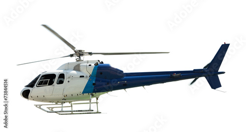 Canvas Prints Helicopter Flying helicopter