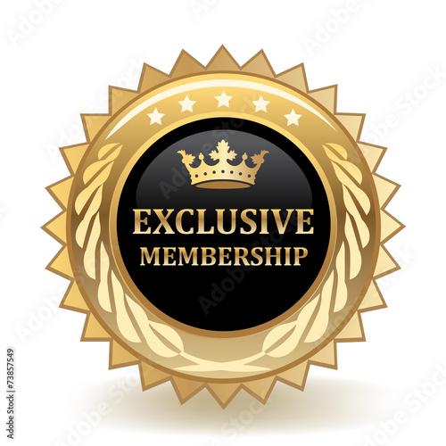 Fotografía  Exclusive Membership Badge