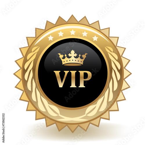 Fotografía  VIP Badge