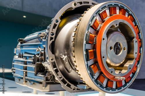 Foto  Hybridmotor