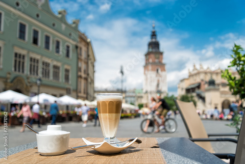 Photo sur Aluminium Cracovie Altstadt von Krakau