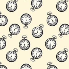FototapetaClock pattern