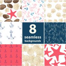 Sea Seamless Set
