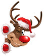 rudolph christmas corner