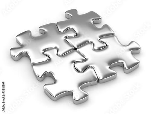 Fotografia  puzzle quattro pezzi
