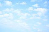 Fototapeta Na sufit - Light blue sky with clouds