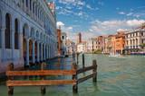 Architektura nad Wielkim Kanałem Wenecja,Włochy.