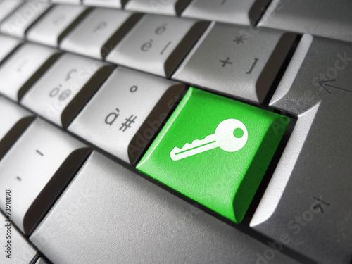 Fotografía  Access Key Security Symbol