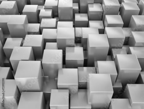 abstrakcjonistyczny-kruszcowy-3d-szescianow-tlo