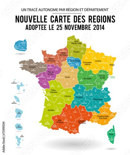 Carte De France 13 Regions Carte Modifiable Buy This Stock Vector And Explore Similar Vectors At Adobe Stock Adobe Stock