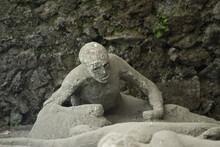 Eruption Victim Of Vesuvius In Pompeii