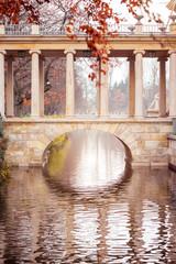 Fototapeta Royal Baths Park in Warsaw
