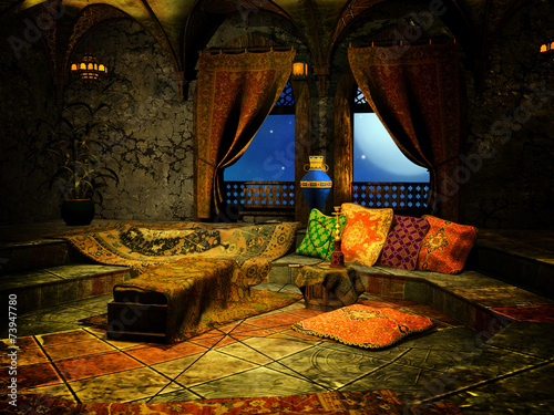 Tablou Canvas Arabian night