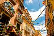 Balconies and garlands