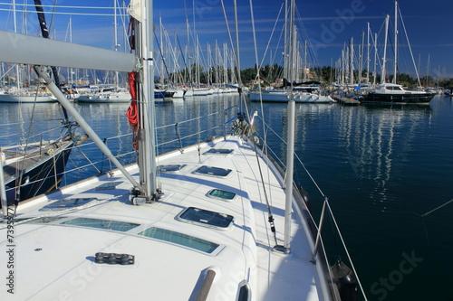 Foto op Plexiglas Water Motor sporten super yacht