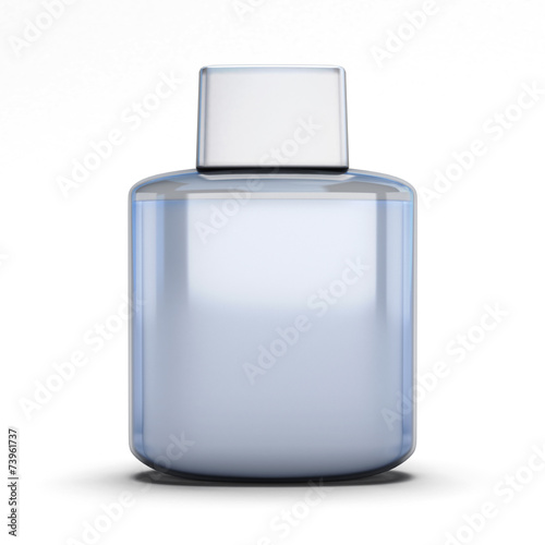 Photo Blank bottle of aftershave