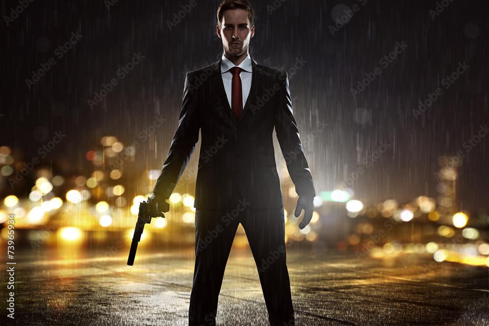 Fototapeta Contract Killer