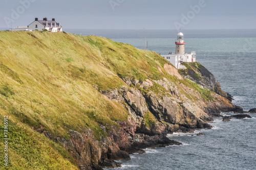 Photo  Bailey Lighthouse, Howth, Dublin (Ireland)