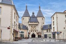 The Craffe Gate In Nancy, France