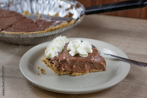 Fotografie, Obraz  Chocolate Cream Pie