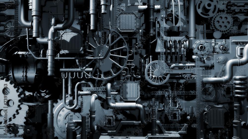 Fototapeta Industry