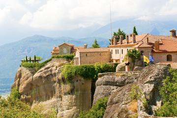 Fototapeta na wymiar The Holy Monastery of St. Stephen, Meteora, Greece