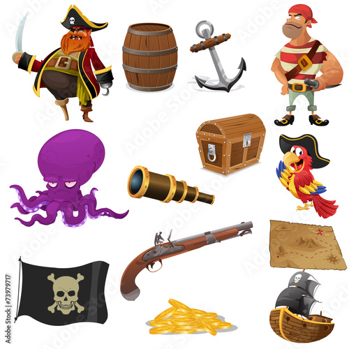 Fotografija  Pirate icons