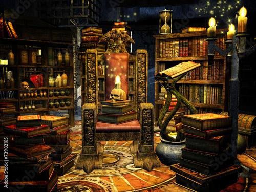 Fotografie, Obraz  Wizard's Throne