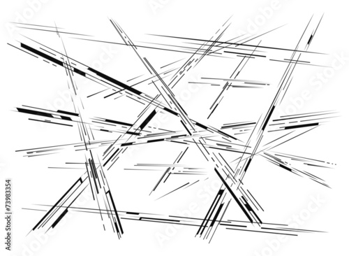 Photo  Abstract crossing lines