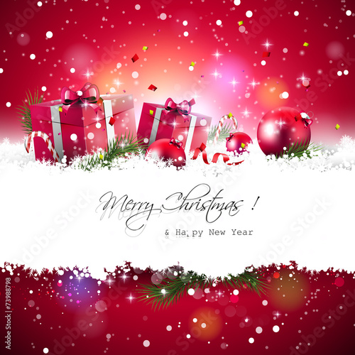 Fotografía  Christmas background