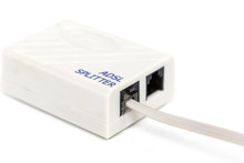 ADSL Splitter Isolated On Whit...