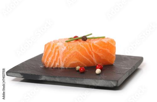 Poster Vis saumon