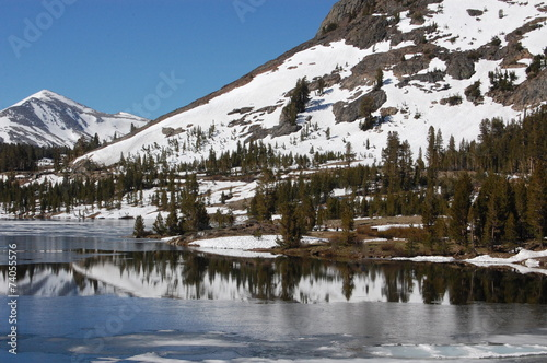 Fototapeten Natur Californie Lake