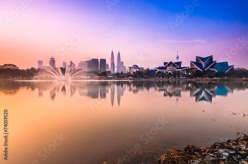 Photo  Kuala Lumpur reflection