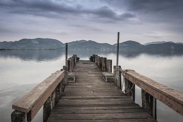 Fototapeta Rzeki i Jeziora Toskana
