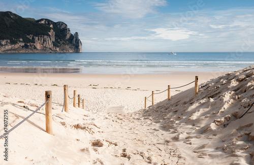 Stampa su Tela  Playa de Laredo, España 02