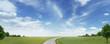 Leinwandbild Motiv Landschaftspanorama
