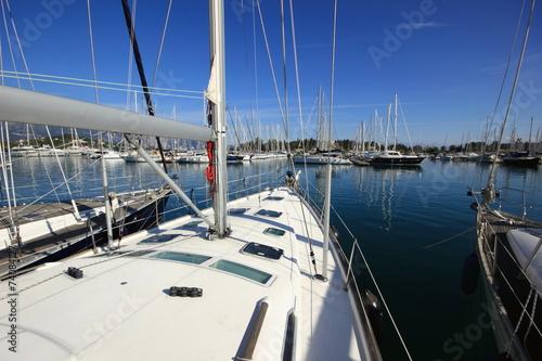 Foto op Plexiglas Water Motor sporten yachts