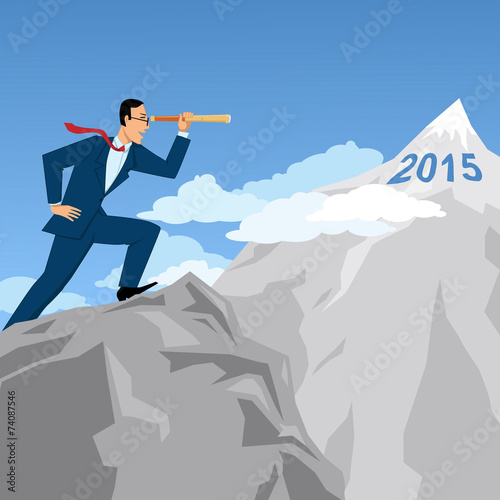 Fotografía  Business forecast and planning for 2015