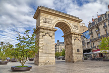 Guillaume Gate On Darcy Square In Dijon, France