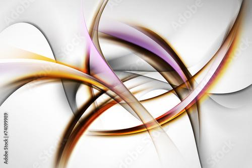 eleganckie fale abstrakcyjne