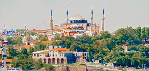 Valokuva Basilica Hagia Sophia in Istanbul