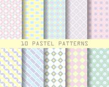 10 Pastel Patterns