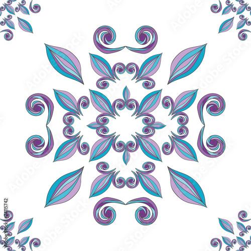 kwiatowy-ornament-malowane-rece